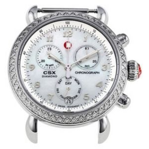 Michele CSX diamond chronograph watch